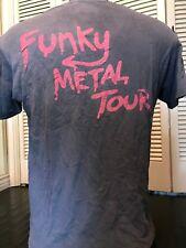 VTG 89 Extreme Tour Shirt Sz M/L Rock Halen Metal Crue Blues Ratt Guitar Dokken