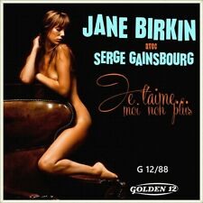 """7"""" JANE BIRKIN Je t'aime moi non plus GOLDEN 12 Germany NUR COVER! (Only Sleeve)"""