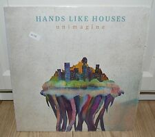 HANDS LIKE HOUSES Unimagine NEW White Vinyl Record LP RARE OOP 2015 Rise Records