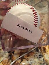 Keven Correia Autographed Baseball