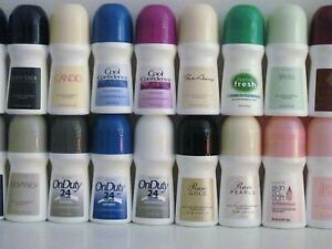 X-LARGE- BONUS SIZE -Avon Roll-on Deodorant  { MIX }  Lot of 6