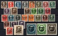 T4224/ GERMANY – BAVARIA – 1911 / 1919 USED SEMI MODERN LOT – CV 295 $
