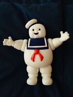 🔴 STAY PUFT MARSHMALLOW GHOSTBUSTERS FIGURE 1984 COLUMBIA PICTURES gomma ledra