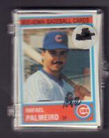 1987 Iowa Cubs Team Card Set w/Rafael Palmeiro++jhml