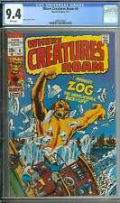 WHERE CREATURES ROAM #6 CGC 9.4 WHITE PAGES