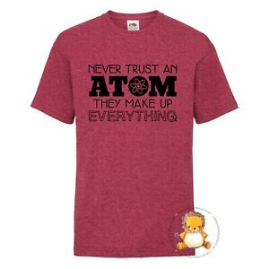 Kids Atom T-shirt - gift, present, trend, personalised, science, experiment,