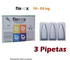 Pipetas Perro 2-10Kg Anti Pulgas y Garrapatas (Fipronilo) FLEVOX 0,67ml pipette