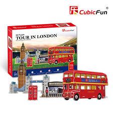 Puzzle 3D TOUR POR LONDRES Rompecabezas Guardia Real Cabina Telefonica Bus j261