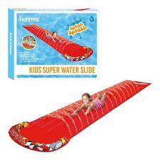 Childrens Kids 5M Play Outdoors Garden Inflatable Spray Sprinkler Water Slide