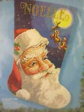 Bucilla Needlepoint Stocking Kit Jolly Old St. Nick Christmas 60723 Santa