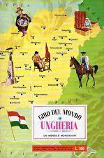 ALBUM FIGURINE GIRO DEL MONDO COMPLETO UNGHERIA