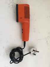 Vintage Braun AG Hair Dryer Type 4402 450W Orange VGC Hair Drier 70s 80s Prop