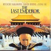 Ryuichi Sakamoto, David Byrne & Cong Su- The Last Emperor  ( CD 1987)