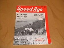 vintage Speed Age July 1951 Motor Sports Racing Magazine racecar auto hot rod