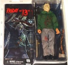 NECA Friday 13th Original JASON VOORHEES retro cloth cult horror action figure