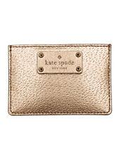 Kate Spade New York Wellesley Graham Leather Credit Card Case Rose Gold Wallet