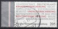 2868 gestempelt Seitenrand Rand links BRD Bund Deutschland Jahrgang 2011