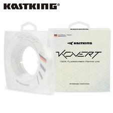 KastKing Kovert Fluorocarbon 50Yds 10LB Leader Line 100% Clear Fishing Line UK