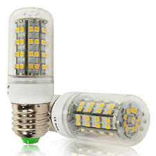 6W Energy Saving 3528 SMD LED Corn Light E27 Bulb Lamp Warm White 66 LEDs 220V