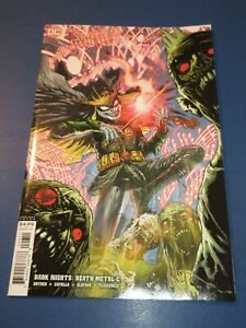 Dark Nights Death Metal #6 Rare Mahnke Variant NM Gem Wow