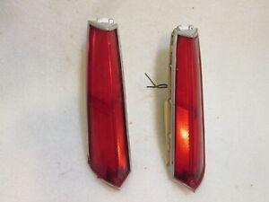 1976-1977 Buick Regal Century COUPE 2DR OUTER CORNER Tail Light L/R OEM
