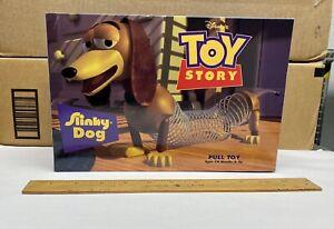 Disney Toy Story Slinky Dog Pull Toy Original 1995 VINTAGE