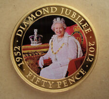 2011 Jersey Diamond Jubilee 50p