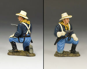 NEW! King & Country Trooper Kneeling with Pistol KX021 John Ford's US Cavalry