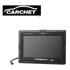 CARCHET 7 Inch TFT LCD Screen Monitor Car DVD CCTV Rearview Reverse  Camera Cam
