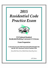 2015 International Residential Code Practice Exam on USB Flash Drive