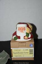 Longaberger Santa Chimney Topper #31966 New