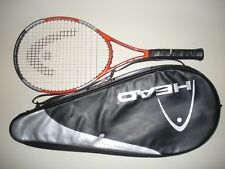 HEAD LIQUIDMETAL RADICAL OS 107 TENNIS RACQUET 4 3/8 (NEW STRINGS)
