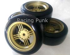 RC Car 1/10 EP 26mm 3mm OFFSET Wheel Rim DRIFT Tyre Tire AMERICAN CLASSIC GOLD