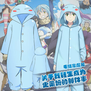 That Time I Got Reincarnated as a Slime Cosplay Long Sleeve Pajamas Sleepwear