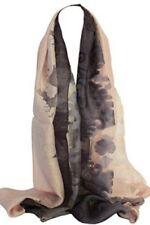 Châles/écharpe rose pour femme, en 100% soie