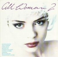 All Woman 2 (1992) Annie Lennox, Tina Turner, Diana Ross, Kate Bush, Mart.. [CD]