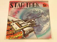 Star Trek & other Movie Songs Vinyl LP 1978 33 RPM Kid Stuff Records