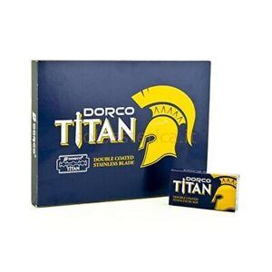 Dorco Titan Double Edge Razor Blades 100 ct Fast Shipping