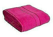 "Bath Towel Sheet Small 100 % Cotton Magenta  Soft Comfort (23""x15"") 3 pcs.Set"