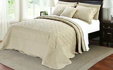 Serenta Quilted Cotton 4 PCs Bedspread Set