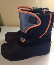 Unbranded Size 5 W Black Synthetic Boots Waterproof Winter Pull On Shoes Women's
