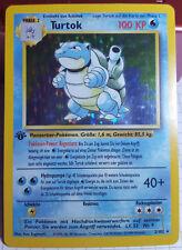 Pokemon-Karte Turtok | deutsch | TOP | Holo 1. Edition Normal