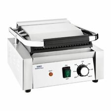 More details for nisbets essentials contact grill ribbed top