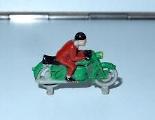 LEGO VINTAGE HO SCALE MOTORCYCLE RACER 1950s DANMARK