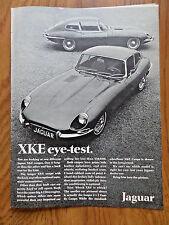 1968 Jaguar Ad XKE Coupes     eye-Test