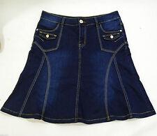 Denim Short/Mini Skirts Plus Size for Women