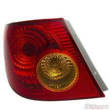 OEM TOYOTA COROLLA DRIVER SIDE TAIL LAMP ASSEMBLY 81560-02200 FITS 2003-2005