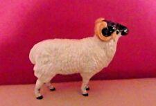 RARE BESWICK RARE BREEDS - BORERAY SHEEP MODEL NUMBER 4124 - BOXED - PERFECT !!
