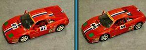 2 Ferrari 1/18 Cavallo Scrimante 348 Challenge Van der Flier CS92005 & CS92008
