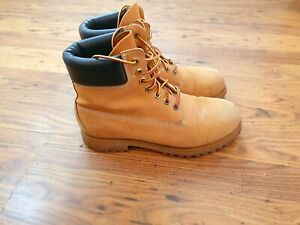 TIMBERLAND Classic 6 Inch Men's Boots Yellow Size UK7